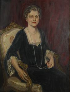 Image of Portrait of Mrs. Harry S. Houghton