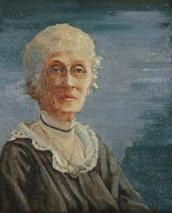 Image of Portrait of Miss Gussie Woodruff