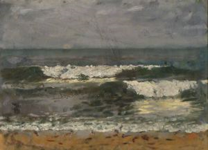 Image of Untitled (Seascape at San Luis Potosi)