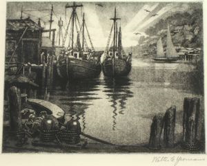 Image of Evening in the Harbor