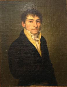 Image of Portrait of a Man in a Yellow Vest