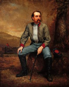 Image of Portrait of Unidentified Confederate Artillery Officer