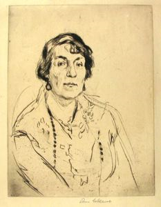 Image of Portrait of Mrs. Lippman