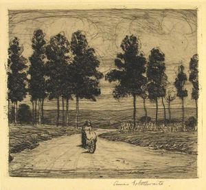 Image of On the Road to Fontainebleau