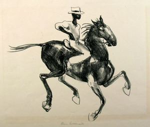 Image of Horse and Rider