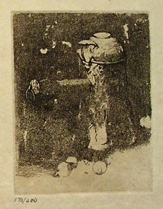 Image of Still Life with Copper and Onions