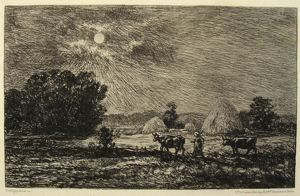 Image of Moonlight at Valmondois (Clair de lune à Valmondois)