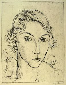 Image of Untitled (Head of a Woman)
