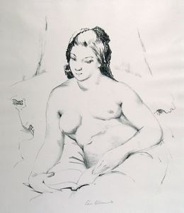 Image of Nude Reading (No. 1)