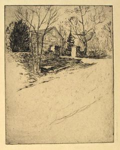Image of The Ledges, Christmas 1922