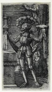 Image of Knight with Bread and Wine