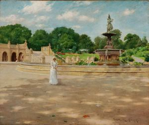 Image of An Early Stroll in the Park