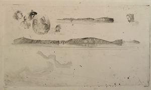 Image of Sketches on the Coast Survey Plate