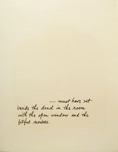 Image of Beside the Dead, Verse Folio Page