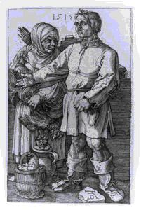 Image of The Peasant and His Wife at Market