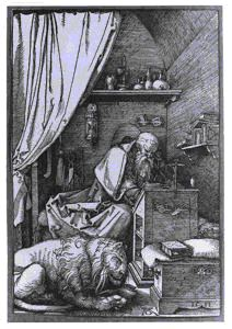 Image of St. Jerome in His Cell
