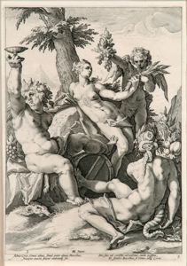 Image of The Alliance of Venus, with Bacchus and Ceres