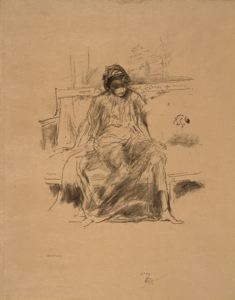 Image of The Draped Figure, Seated