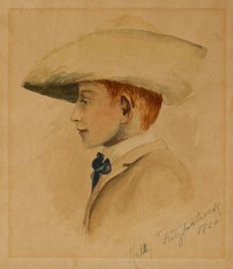 Image of Portrait of George E. Enslen at Age Eleven