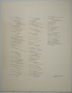 Image of Poem for Immendorff's Brandenburger Tor (da kam Billi wildes 19. Jahrhundert der Demokratie vertrauend...)