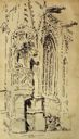 Image of Untitled (Gothic Facade With Figures)
