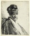Image of Bust of a Man Wearing a High Cap, Three-Quarters Right: The Artist's Father (?)
