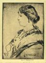 Image of Profile Portrait of a Lady (No. 1)