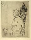 Image of Portrait of an Elderly Lady: Profile View