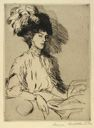 Image of Portrait of a Lady in a Feathered Hat