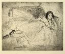 Image of Victoria Reclining on a Sofa