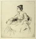 Image of Portrait of Viola Roseboro Seen in Profile