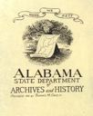 Image of Bookplate for Alabama State Department of Archives and History