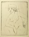 Image of Nude with Hat