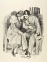 Image of Lovers on a Bench
