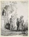 Image of Three Oriental Figures (Jacob And Laban)
