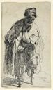 Image of Beggar with a Wooden Leg