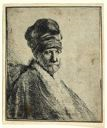 Image of Bust of a Man Wearing a High Cap, Three Quarters Right: The Artist's Father (?)