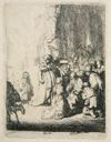 Image of Presentation in the Temple with the Angel: Small Plate