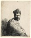Image of Bearded Man in a Furred Oriental Cape and Robe: The Artist's Father