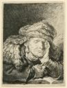 Image of Old Woman Sleeping