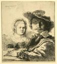 Image of Self-Portrait with Saskia