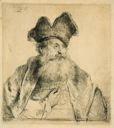 Image of Old Man with a Divided Fur Cap