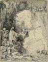 Image of The Raising of Lazarus: Small Plate