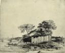 Image of Cottage with a White Paling