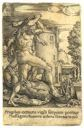 Image of Hercules Killing the Dragon Who Guards the Garden of Hesperides...